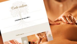 Coffret cadeau-Bon cadeau Massage Bergerac
