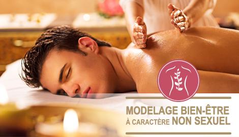 Modelage à caractère non sexuel-Massage bien être-massage relaxant